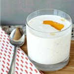 Skinny Peach Greek Yogurt Smoothie