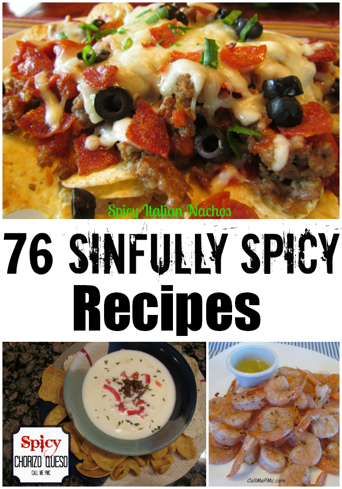 76 Sinfully Spicy Recipes!