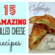 15 Amazing Grilled Cheese Recipes