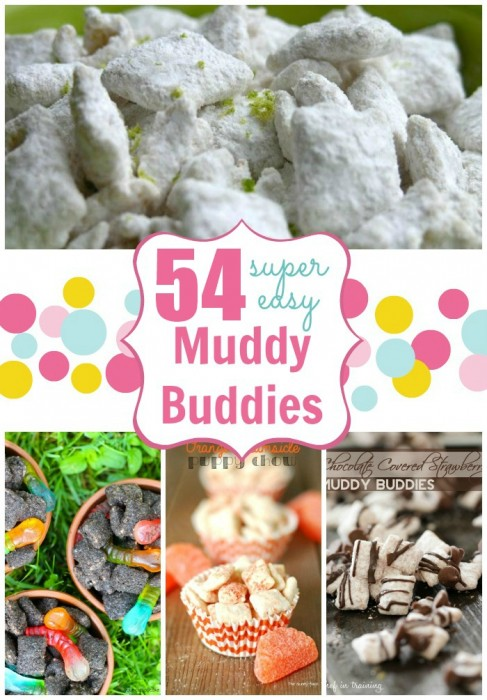 54 Muddy Buddies recipes #callmepmc