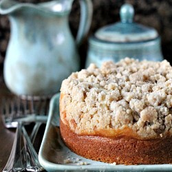 Amaretto Cream Cheese Coffee Cake Recipe