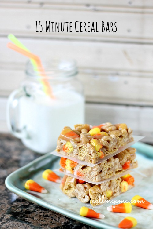 Cereal Bars 15 Minute w www.callmepmc.com