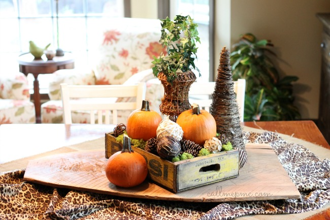 Fall Tablescape #callmepmc