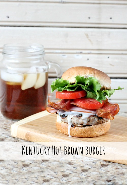 Kentucky Hot Brown Burger #callmepmc