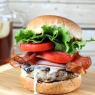 Kentucky Hot Brown Burger