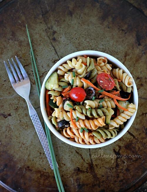Pasta Salad w CallMePMc.com