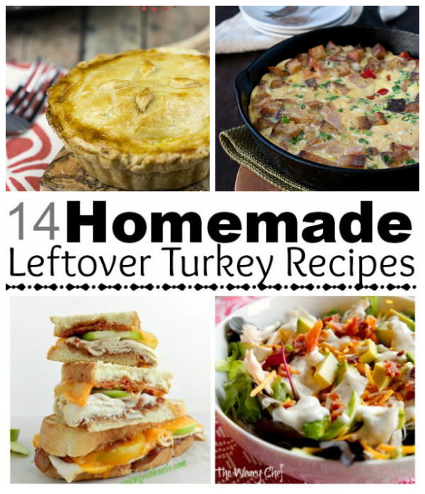 Frugal foodie mama marvelous mondays link party 74 for Leftover thanksgiving turkey recipes