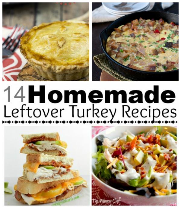 14 Homemade Leftover Turkey Recipes