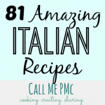 81 Amazing Italian recipes