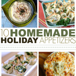 Homemade Holiday Appetizers