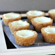 Basic Cheesecake Cookie Cups