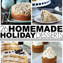 Homemade Holiday Dessert Roundup
