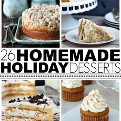 Homemade Holiday Dessert Roundup