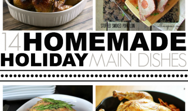14 Homemade Holiday Main Dishes