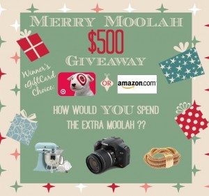 Merry Moolah $500 Give Card Giveway