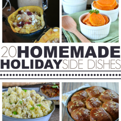 Homemade Holiday Side Dishes
