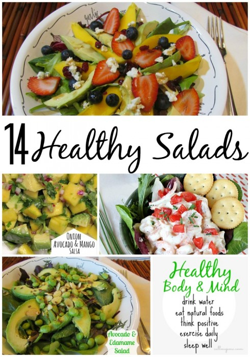 14 healthy #salads from Call Me PMc