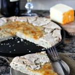 Caramelized Sweet Onion with Blue Cheese Pastry Galette