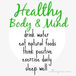Healthy Body & Mind
