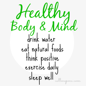Healthy body and mind essay