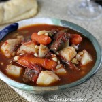 Old Fashion Beef Steak and Vegetable soup
