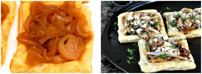 Onion Tart Collage