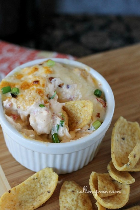 Hot Spicy Crawfish Cheese Dip