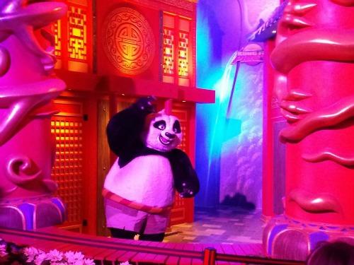 Kung Fu Panda Gaylord Opryland Resort