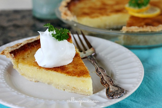 Lemon Chess Pie with Coconut Oil Pie Crust » Call Me PMc