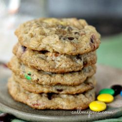 Pretzel Oatmeal Chocolate Chip Cookie Recipe