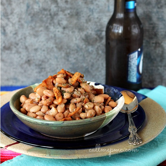 Slow Cooker Gluten Free Pinto Beans