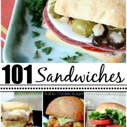101 Sandwich Recipes