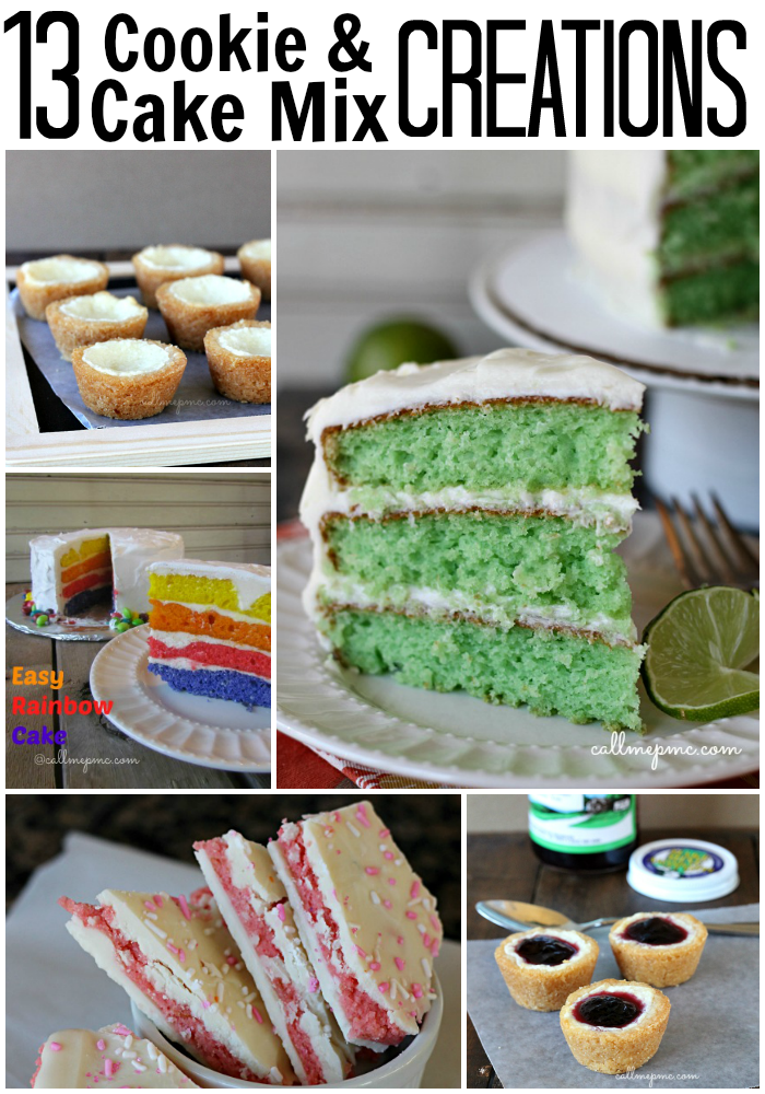 13 Cookie & Cake Mix Creations