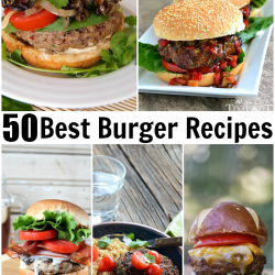 50 Best Burger Recipes