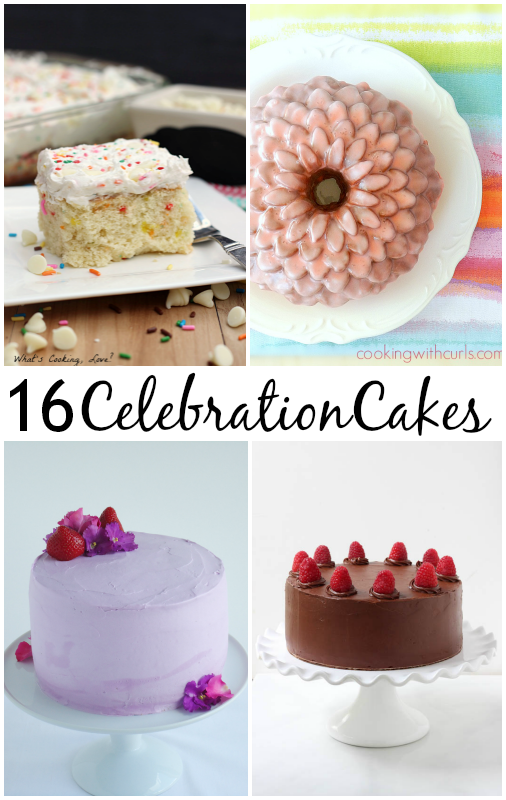 Celebration Cakes for any occasion | Easy cake recipes from callmepmc.com
