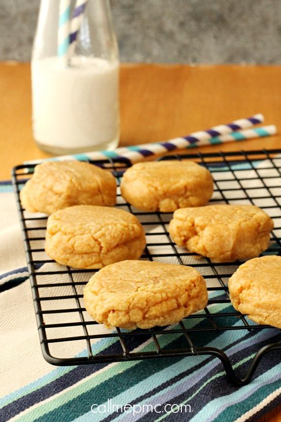 Small Batch Peanut Butter Cookies
