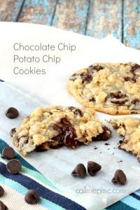 Chocolate Potato Chip Cookies