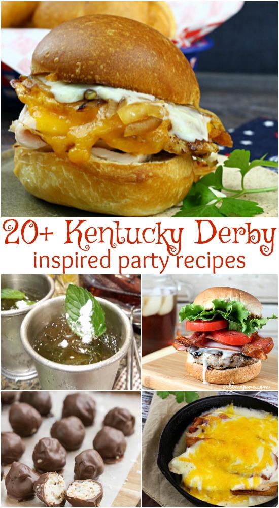 Kentucky Derby inspired recipes