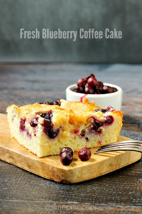 Fresh Blueberry Coffee Cake » Call Me PMc