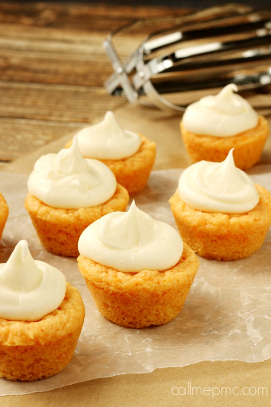 Orange Cookie Cups