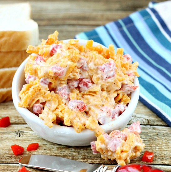 A wonderful blend of cheese, mayonnaise and pimentos my Pimento Cheese Recipe is perfect for burgers, grilled cheese, as well as a spread or dip!
