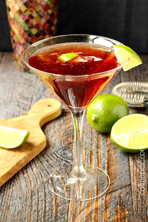 Gin Cosmopolitan cocktail recipeis a bright, refreshing happy hour cocktail that's sure to put you in a good mood! . Simple martini drink.