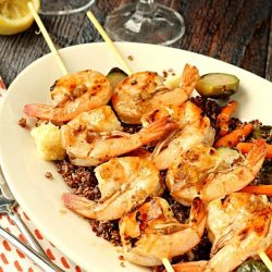 Grilled Balsamic Shrimp