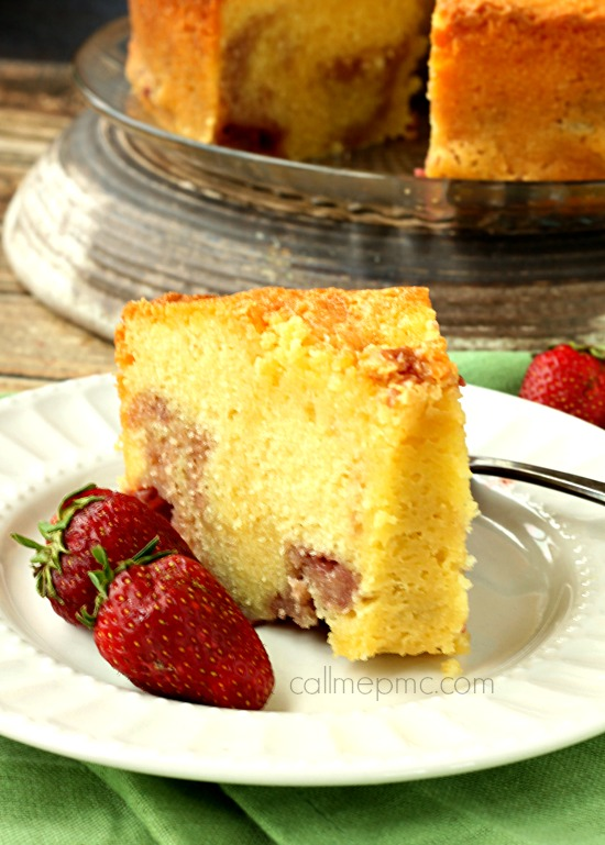Strawberry Pound Cake recipe