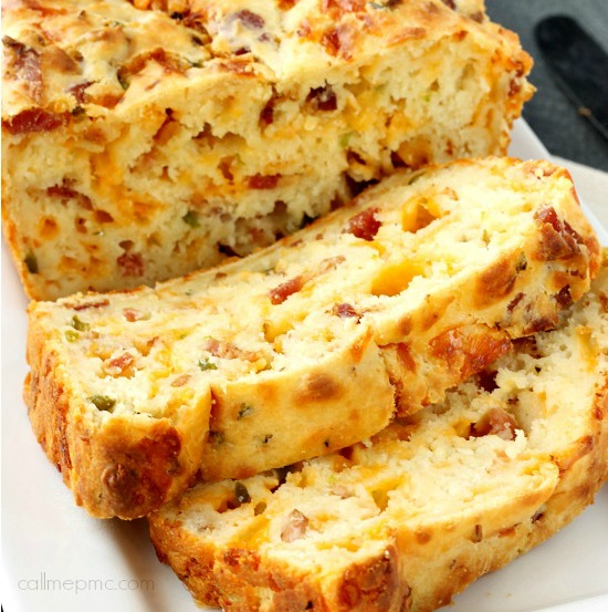 Hams Egg Cheesy Bread Roll: Bacon Jalapeno Popper Cheesy Bread » Call Me PMc