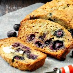 Blueberry Banana Bread with Almond Milk
