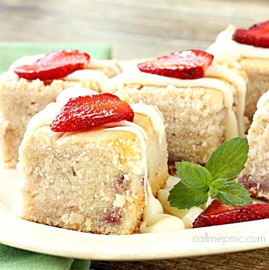 Fresh Strawberry Greek Yogurt Bread