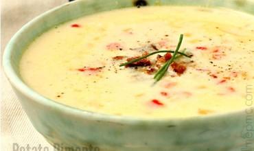 Potato Pimento Cheese Soup Recipe | Slow Cooker