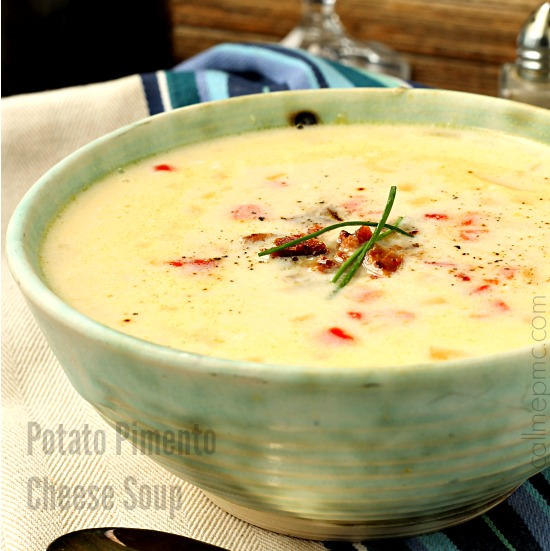 Potato Pimento Cheese Soup