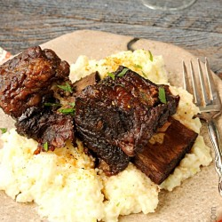 Red Wine Pomegranate Slow Cooker short Ribs